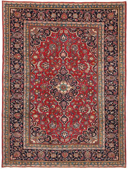 Keshan Patina Vloerkleed 260X354 Echt Oosters Handgeknoopt Zwart/Bruin Groot (Wol, Perzië/Iran)