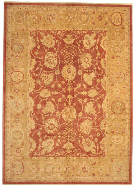 Oushak Rug 304X423 Authentic  Oriental Handknotted Light Brown/Orange Large (Wool, Turkey)