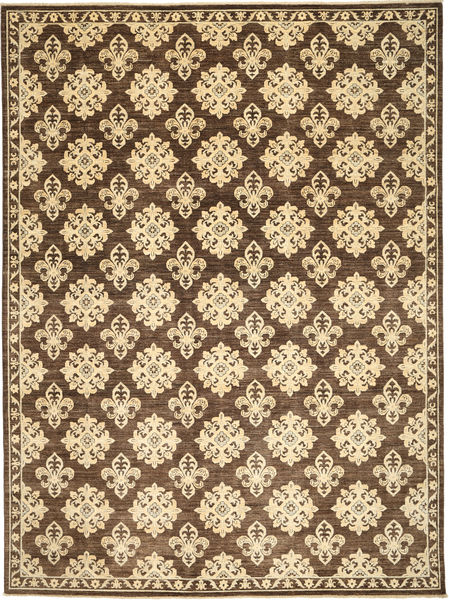 Ziegler Rug 279X370 Authentic  Oriental Handknotted Beige/Brown/Light Brown Large (Wool, Pakistan)