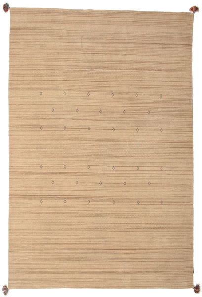 Loribaf Loom Teppe 193X292 Ekte Moderne Håndknyttet Lysbrun/Mørk Beige (Ull, India)