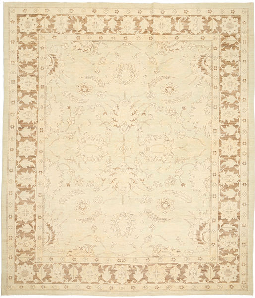 Ziegler Ariana Rug 246X287 Authentic  Oriental Handknotted Beige/Yellow (Wool, Afghanistan)