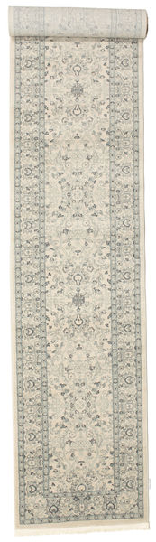 Ziegler Michigan - Green/Beige Rug 80X500 Oriental Hallway Runner  Light Grey/Dark Beige ( Turkey)