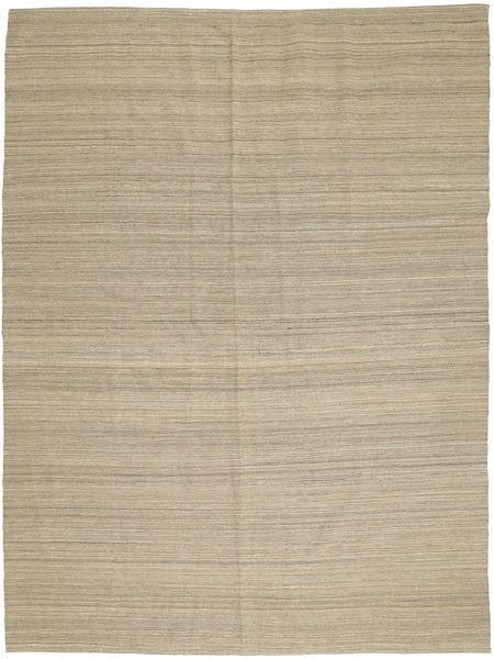 Kelim Moderni Matto 204X280 Moderni Käsinkudottu Vaaleanruskea (Villa, Afganistan)