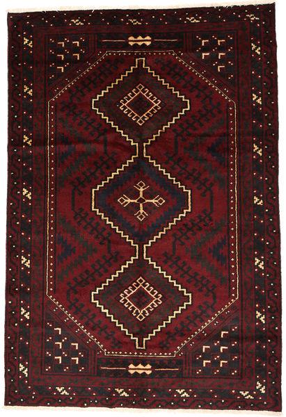 Lori Teppich  175X258 Echter Orientalischer Handgeknüpfter Dunkelbraun/Dunkelrot (Wolle, Persien/Iran)