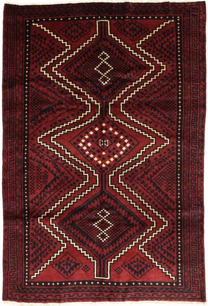 Lori Alfombra 170X257 Oriental Hecha A Mano Rojo Oscuro/Marrón Oscuro (Lana, Persia/Irán)