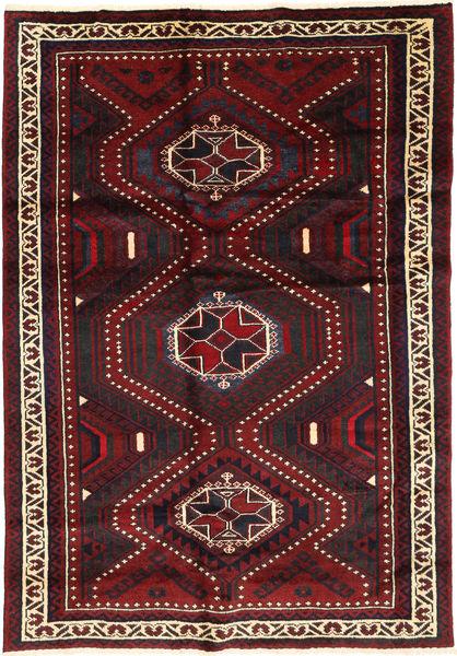 Lori Covor 170X254 Orientale Lucrat Manual Roșu-Închis (Lână, Persia/Iran)