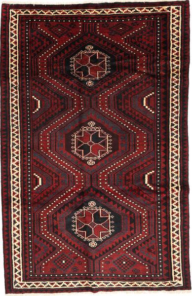 Lori Matto 170X266 Itämainen Käsinsolmittu Tummanpunainen/Musta (Villa, Persia/Iran)