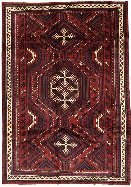 Lori Dywan 178X255 Orientalny Tkany Ręcznie Ciemnoczerwony/Czarny (Wełna, Persja/Iran)
