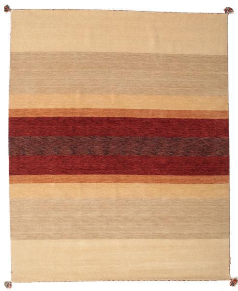 Loribaf Loom Rug 173X242 Authentic  Modern Handknotted Dark Beige/Light Brown/Dark Red (Wool, India)