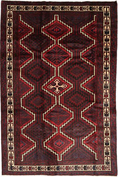 Lori Matto 170X260 Itämainen Käsinsolmittu Tummanruskea/Tummanpunainen (Villa, Persia/Iran)