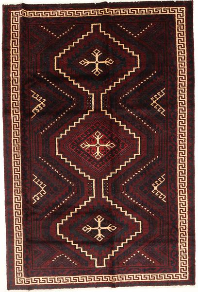 Lori Matto 171X255 Itämainen Käsinsolmittu Tummanruskea/Tummanpunainen (Villa, Persia/Iran)