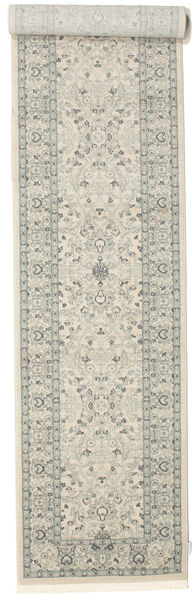 Ziegler Michigan - Green/Beige Rug 80X400 Oriental Hallway Runner  Light Grey/Beige ( Turkey)