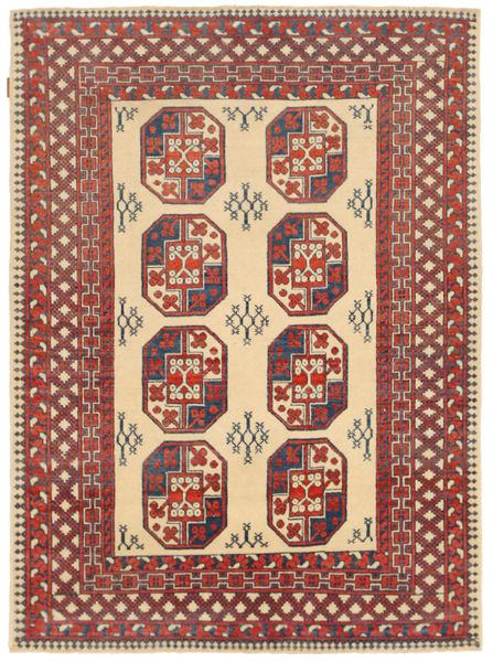 Kazak Matto 146X202 Itämainen Käsinsolmittu Ruskea/Tummanbeige (Villa, Pakistan)