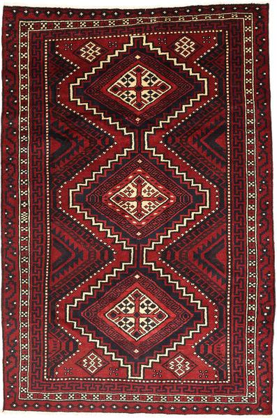 Lori Matto 178X268 Itämainen Käsinsolmittu Tummanpunainen/Musta (Villa, Persia/Iran)