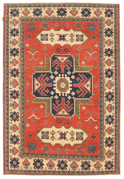 Kazak Teppe 183X277 Ekte Orientalsk Håndknyttet Lysbrun/Orange (Ull, Pakistan)