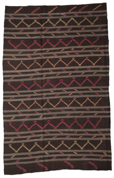 Kilim Semiantigua Turquía Alfombra 228X354 Oriental Tejida A Mano Marrón Oscuro/Marrón (Lana, Turquía)