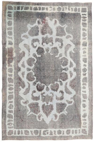 Colored Vintage Matto 187X285 Moderni Käsinsolmittu Vaaleanharmaa (Villa, Persia/Iran)