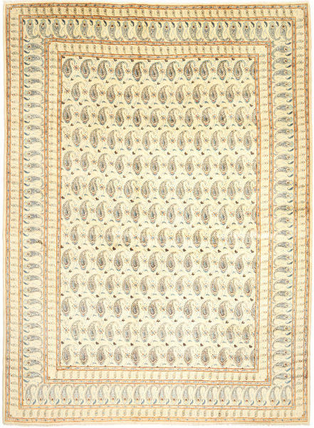 Keshan Rug 300X400 Authentic  Oriental Handknotted Beige/Dark Beige/Light Brown Large (Wool, Persia/Iran)