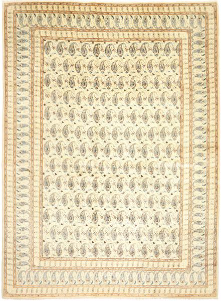 Keshan Matto 300X400 Itämainen Käsinsolmittu Beige/Tummanbeige/Vaaleanruskea Isot (Villa, Persia/Iran)