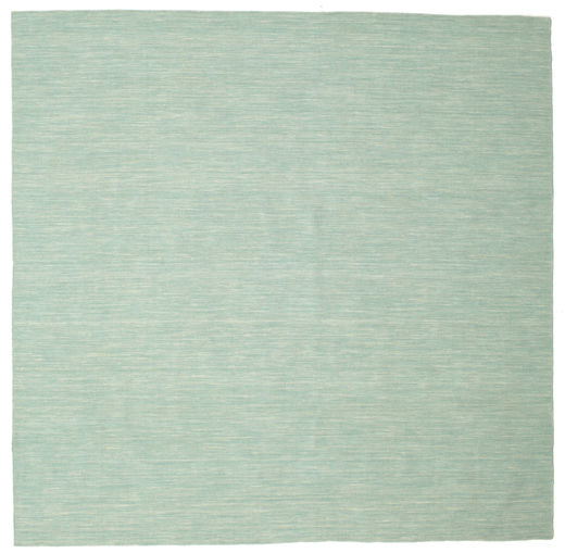 Kelim loom - Mint grün Teppich CVD8684