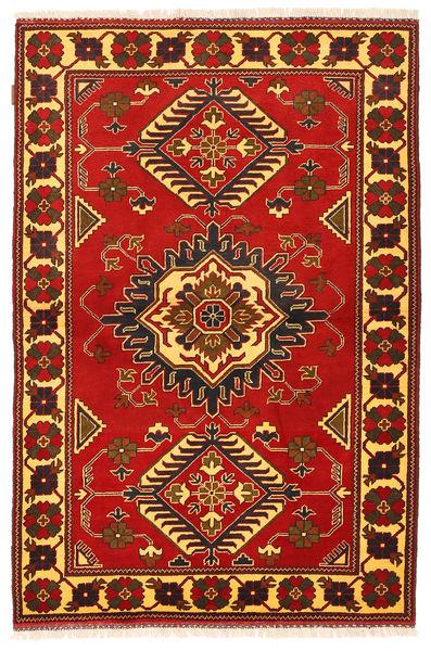カザック 絨毯 125X188 オリエンタル 手織り 錆色/濃い茶色 (ウール, パキスタン)
