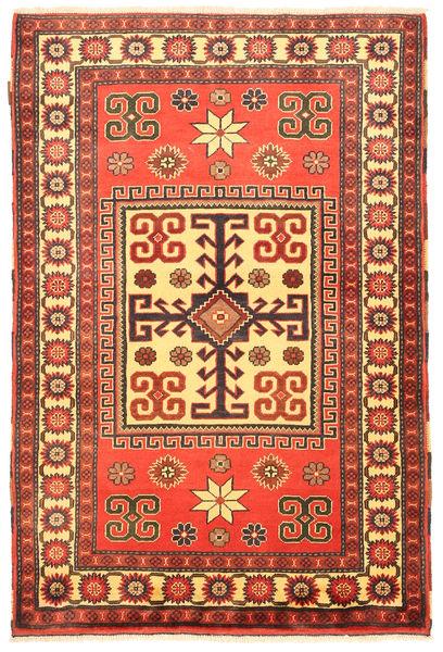 Kazak Matta 109X163 Äkta Orientalisk Handknuten Orange/Roströd (Ull, Pakistan)