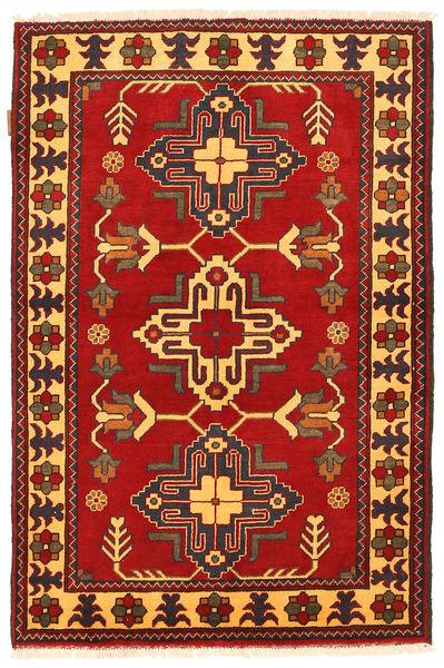 Kazak Rug 100X152 Authentic  Oriental Handknotted Rust Red/Dark Brown (Wool, Pakistan)