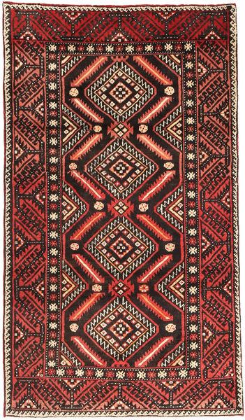 Ghashghai Matto 110X195 Itämainen Käsinsolmittu Tummanruskea/Ruoste (Villa, Persia/Iran)