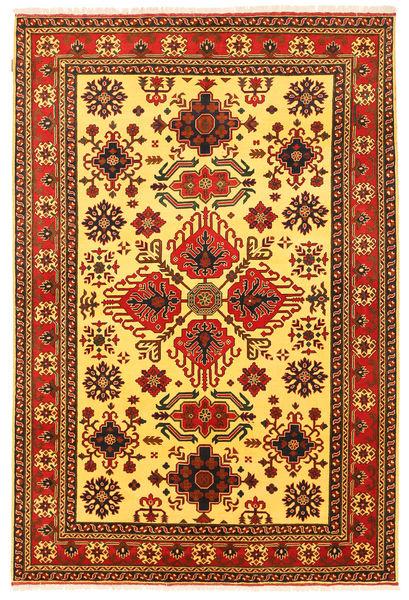 Kazak Vloerkleed 201X295 Echt Oosters Handgeknoopt Geel/Roestkleur (Wol, Pakistan)