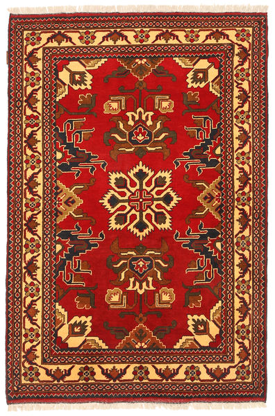 Kazak Vloerkleed 118X179 Echt Oosters Handgeknoopt Roestkleur/Donkerbruin (Wol, Pakistan)