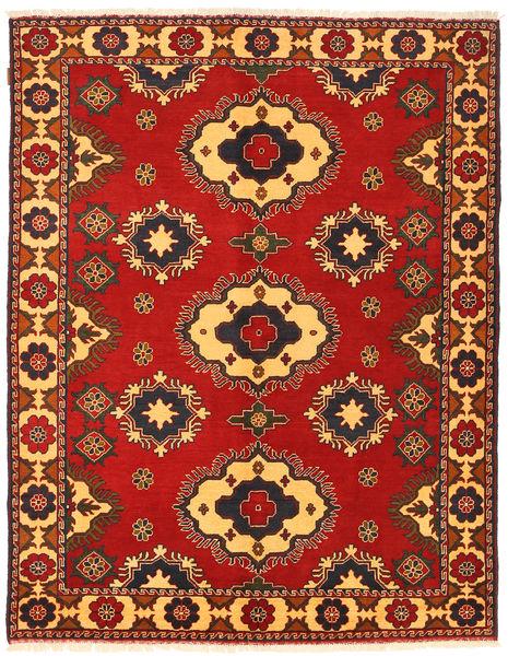 Kazak Rug 180X227 Authentic  Oriental Handknotted Rust Red/Dark Brown (Wool, Pakistan)