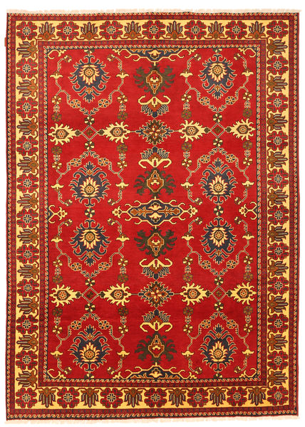 Kazak Rug 202X287 Authentic  Oriental Handknotted Rust Red (Wool, Pakistan)