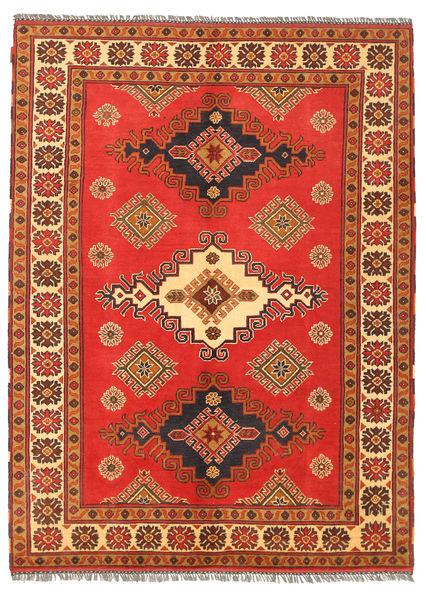 Kazak Matto 154X209 Itämainen Käsinsolmittu Oranssi/Ruoste (Villa, Pakistan)