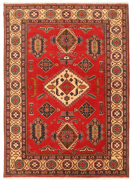 Kazak Matto 203X289 Itämainen Käsinsolmittu Ruoste/Tummanruskea (Villa, Pakistan)
