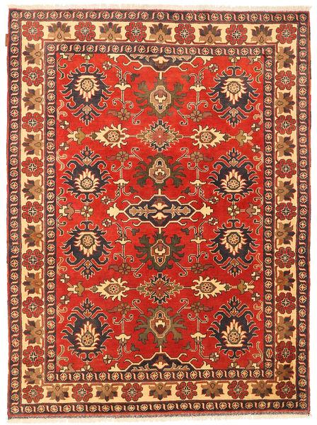 カザック 絨毯 150X206 オリエンタル 手織り 錆色/深紅色の (ウール, パキスタン)