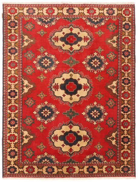 Kazak Koberec 177X235 Orientální Ručně Tkaný Červenožlutá/Světle Hnědá (Vlna, Pákistán)