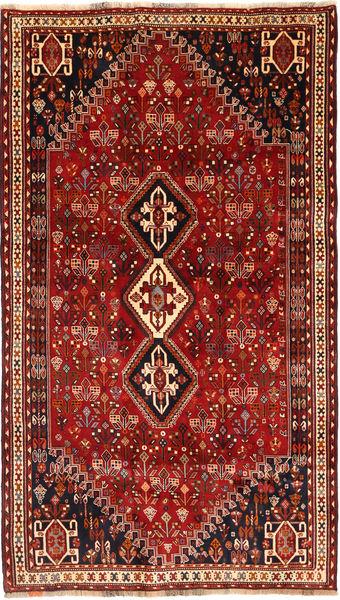 Kaszkaj Dywan 168X289 Orientalny Tkany Ręcznie Ciemnoczerwony/Ciemnobrązowy (Wełna, Persja/Iran)