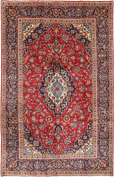 Keshan Matto 198X311 Itämainen Käsinsolmittu Tummanpunainen/Ruoste (Villa, Persia/Iran)