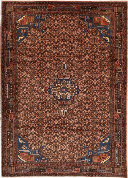 Koliai Matto 207X285 Itämainen Käsinsolmittu Tummanruskea/Tummanpunainen (Villa, Persia/Iran)