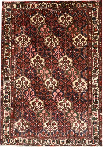 Bakhtiar Matto 205X291 Itämainen Käsinsolmittu Tummanpunainen/Tummanruskea (Villa, Persia/Iran)