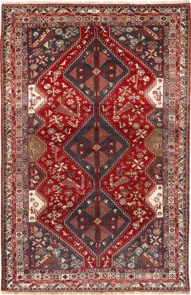 Qashqai Rug 180X277 Authentic  Oriental Handknotted Dark Red/Dark Blue (Wool, Persia/Iran)