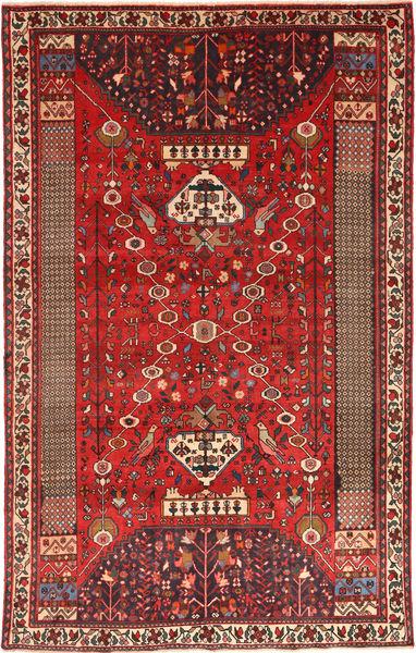 Qashqai Rug 185X300 Authentic  Oriental Handknotted Rust Red/Dark Brown/Brown (Wool, Persia/Iran)