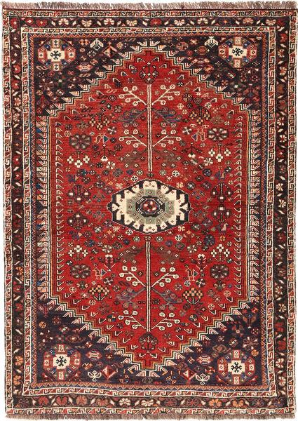 Ghashghai Matto 112X158 Itämainen Käsinsolmittu Ruskea/Ruoste (Villa, Persia/Iran)