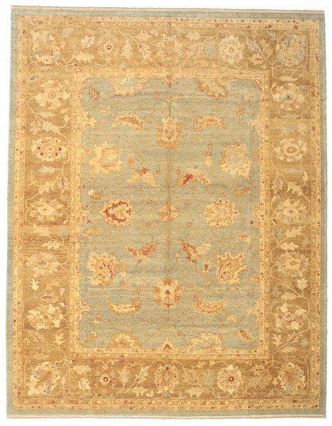 Oushak Rug 308X393 Authentic  Oriental Handknotted Light Brown Large (Wool, Turkey)
