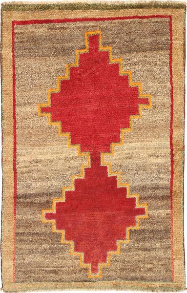 Ghashghai Matto 96X153 Itämainen Käsinsolmittu Vaaleanruskea/Ruoste (Villa, Persia/Iran)