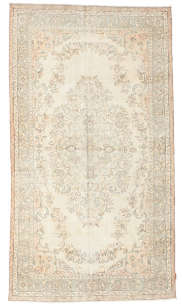 Colored Vintage Rug 178X320 Authentic  Modern Handknotted Beige/Light Brown (Wool, Turkey)
