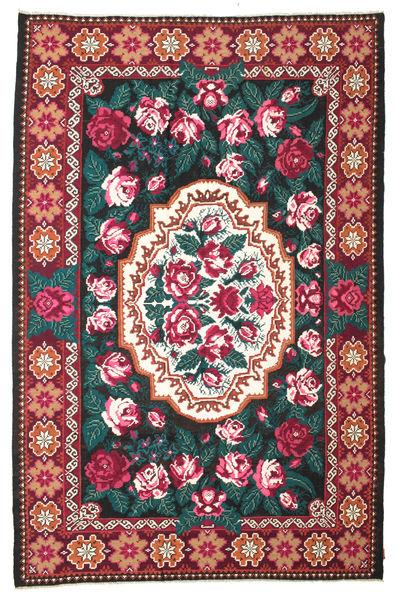 Rozenkelim Moldavia Vloerkleed 230X350 Echt Oosters Handgeweven Beige/Zwart (Wol, Moldavië)