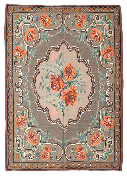 Rose Kelim Moldavia Rug 177X247 Authentic  Oriental Handwoven Light Brown/Brown (Wool, Moldova)