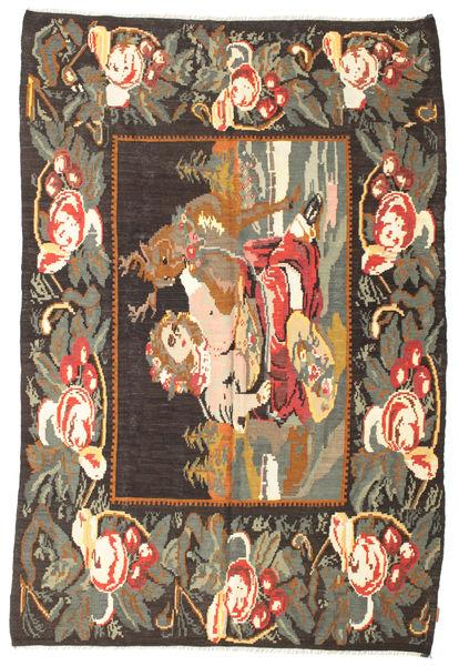 Tappeto Kilim Rose Moldavia XCGZF1101