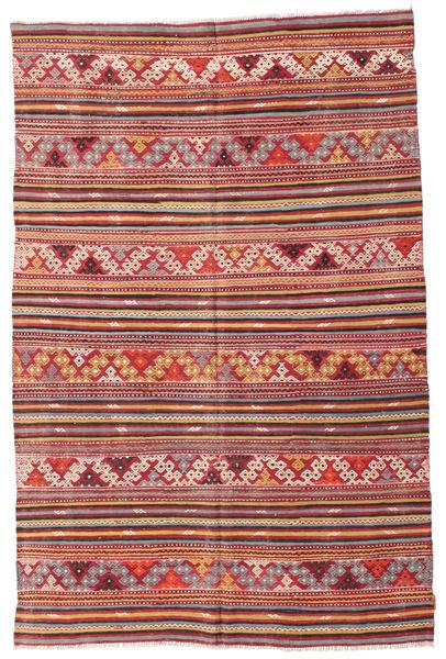 Kelim halvt antikke Tyrkiske teppe XCGZF1030